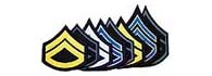 Double Chevron Patches with Single Rocker