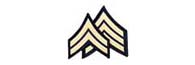 Class B Merrowed Border Corporal and Sargent Chevrons